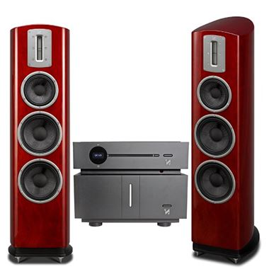 Quad Artera Play+ CD / USB / Pre Amp and Stereo Power Amplifier with Z3 Speakers and Free cables