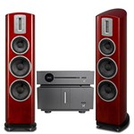 Quad Artera Play CD / USB / Pre Amp and Stereo Power Amplifier with Z3 Speakers