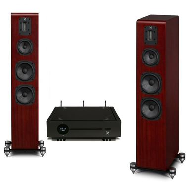 Quad Artera Solus Play WiFi Streaming System Complete with Quad S4 Speakers