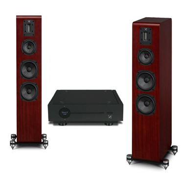 Quad Artera Solus Bluetooth Streaming HiFi System Complete with Quad S4 Speakers