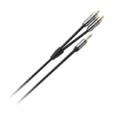 QED Performance J2P Graphite Mini Jack to RCA Phono cable
