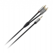 QED Performance J2P Graphite Mini Jack to RCA Phono cable