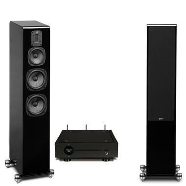 Quad Artera Solus Play Streaming HiFi System Complete with Quad S5 Speakers