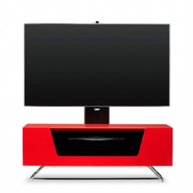 Alphason Alpha Chromium 2 Cantilever TV / AV Cabinet