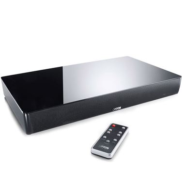 Canton DM55 Glass Top Digital Movie TV Sound Plinth with Bluetooth