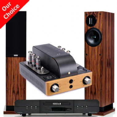 Unison Research S6 Amplifier with Roksan M2 CD and ProAc D20R speakers