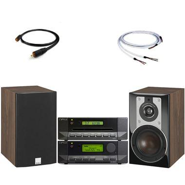 Cyrus 8 DAC Mk2 with Stream X Signature and Dali Opticon 1 Speakers and cables
