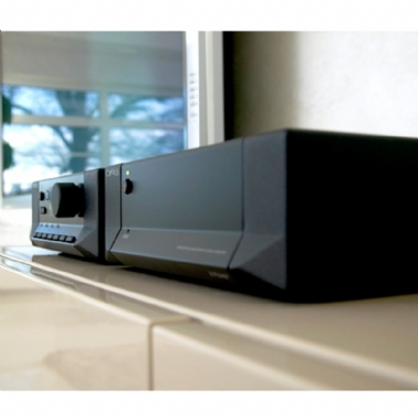 Cyrus Pre 2 DAC with Stereo 200 Power Amplifier & Cables