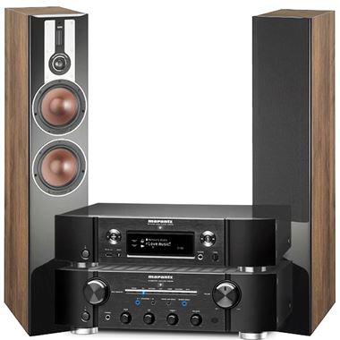 Marantz NA8005 system with Dali Opticon 6
