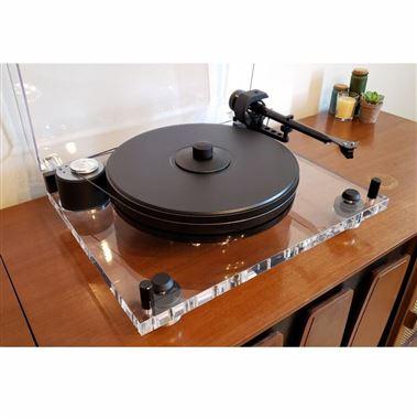 Project 6 Perspex SB Turntable inc. Ortofon 2M Blue Cartridge