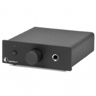 Project Head Box S Headphone Amplifier in Black