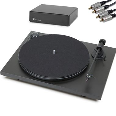 Project Primary Turntable inc. Lid, Cartridge, Phono PreAmp & Cables