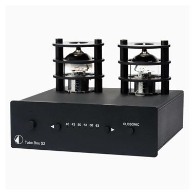 Project Tube Box S2 MM / MC Valve Phono Stage