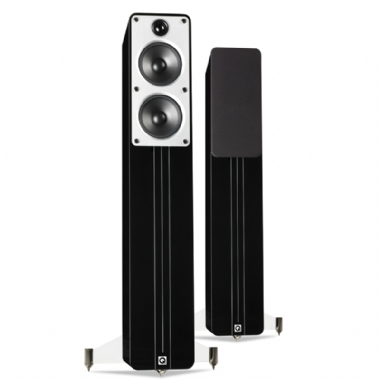 Q Acoustics Concept 40 Floorstanding Speakers with 3m Pair QED Revelation Cable