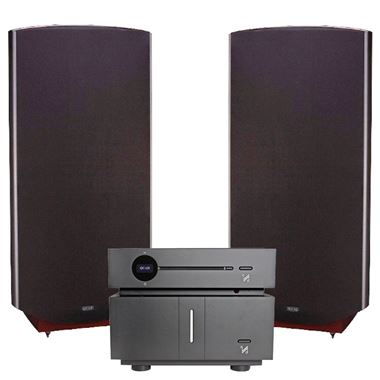 Quad Artera Play CD / USB / Pre Amp and Stereo Power Amplifier with ESL-2912 Speakers