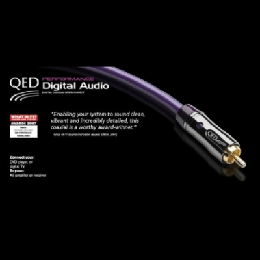 QED Performance Digital Audio CoAx Cable