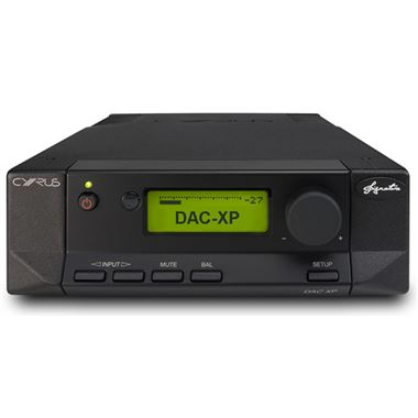 Ex Display Cyrus DAC XP Signature Pre Amplifier and DAC ( Black )