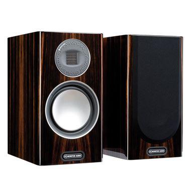 Ex Display Monitor Audio Gold 5G 100 Standmount Speakers in Dark Walnut