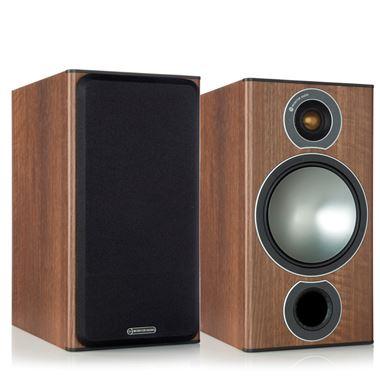 Ex Display Monitor Audio Bronze 2 Speakers in Walnut