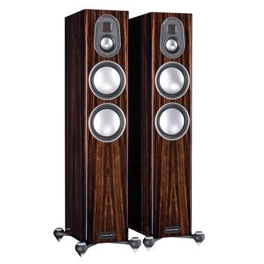 Ex Display Monitor Audio Gold 5G 200 Speakers in Luxury Piano Ebony