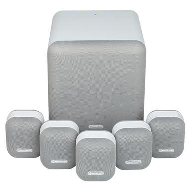 Ex Display Monitor Audio MASS 2G 5.1 AV Surround Sound Speaker Package in White