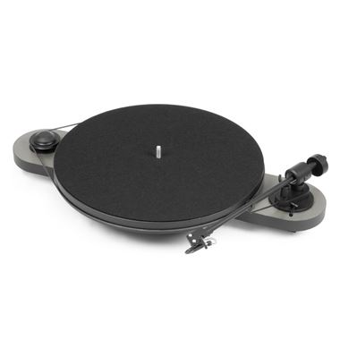 Pro-Ject Elemental Turntable in Silver/Black