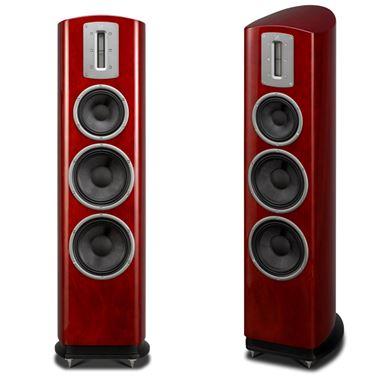 Ex Display Quad Z-3 Floorstanding Speakers in Rosewood