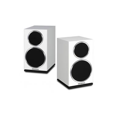 Ex Display Wharfedale Diamond 220 Bookshelf Speakers in White