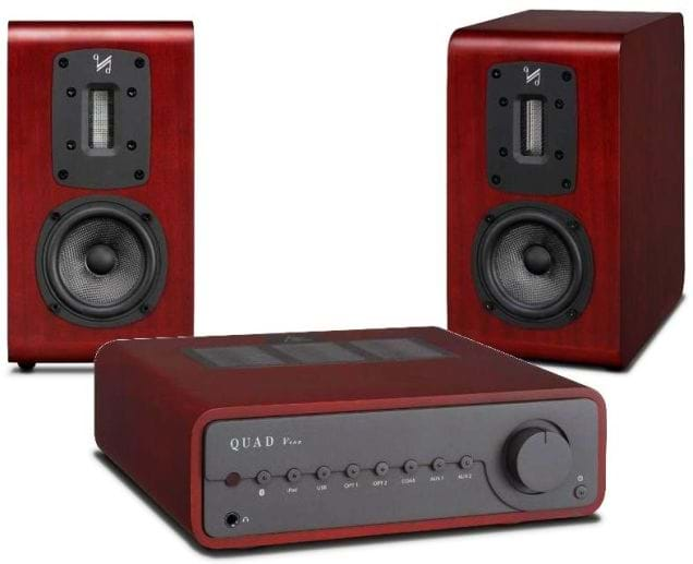 Quad Vena Bluetooth Amplifier with S1 Speakers