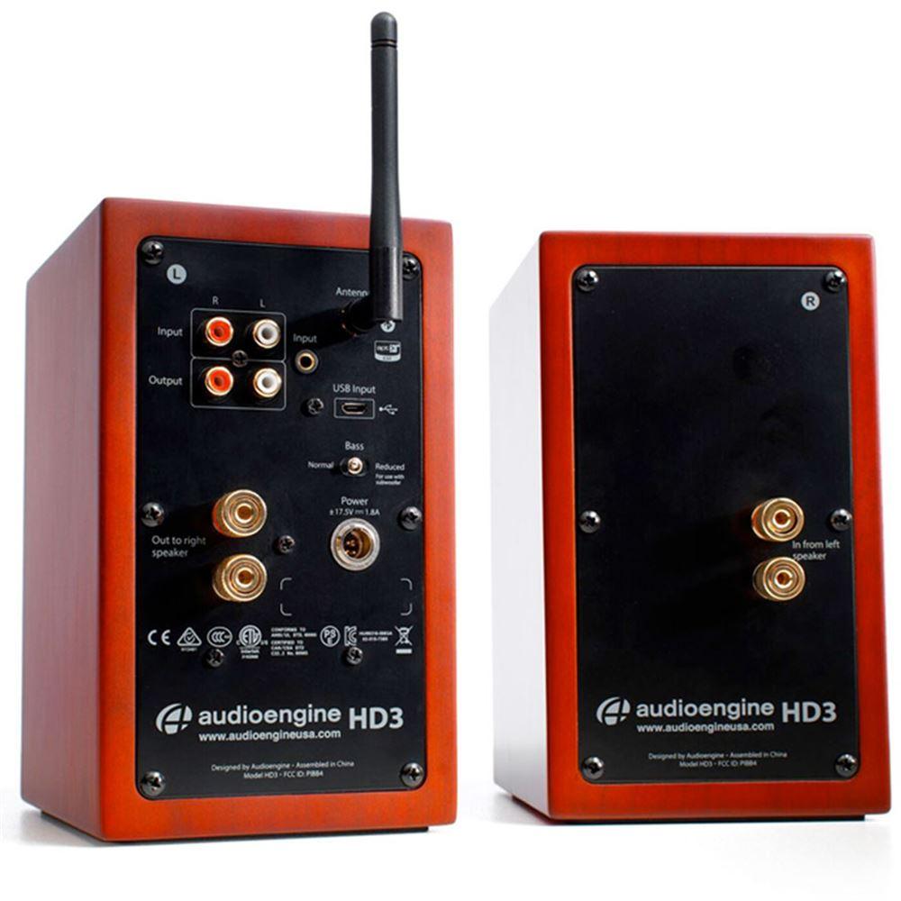 Audioengine Hd3 Powered Bluetooth Speakers From Vickers Hifi Hd6 Cherry