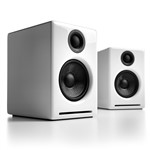 Audioengine A2+ Active Speakers with USB in Gloss White
