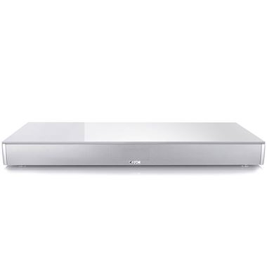 Canton DM100 Glass Top Digital Movie TV Sound Base with Bluetooth.