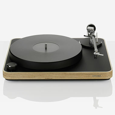 Clearaudio Concept Wood Turntable inc. Arm and Cartridge