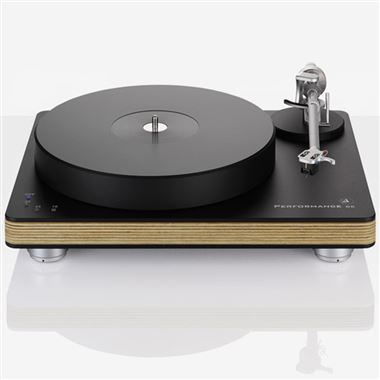 Clearaudio Performance DC Wood Turntable inc. Satisfy Arm and Cartridge