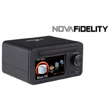 NovaFidelity X12 All-in-One HD Digital Music Centre