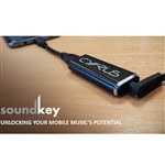 Cyrus Audio SoundKey Mobile DAC and Headphone Amplifier in Graphite Black