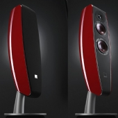 Dali Fazon F5 Floorstanding Speakers  Red
