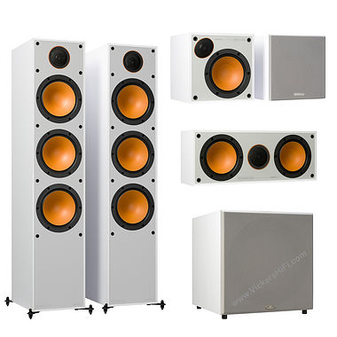 Monitor Audio - Monitor 300 AV 5.1ch Home Cinema Speaker Package