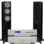 Musical Fidelity M2si Amp and M2sCD with Monitor Audio Silver 200 Speakers