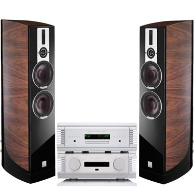 Musical Fidelity Nu-Vista 800 Amp and CD with Dali Epicon 6 Speakers