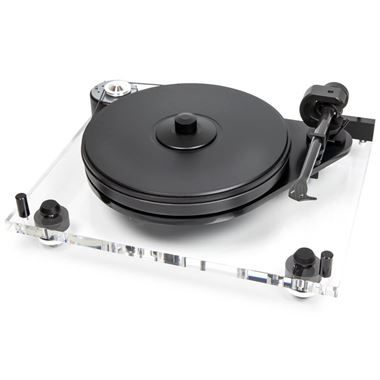 Pro-Ject 6 Perspex SB Turntable inc. Ortofon 2M Blue Cartridge