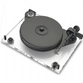 Project 6 Perspex SB Turntable inc Ortofon 2M