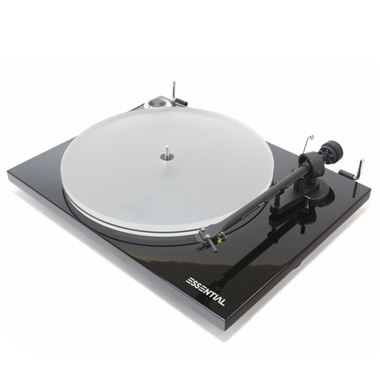 Pro-Ject Essential III A Turntable inc. Lid, Cartridge, Phono PreAmp & Cables