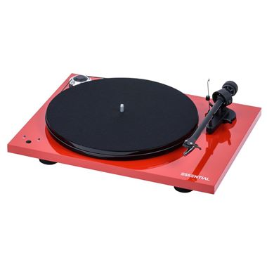 Pro-Ject Essential III SB Turntable with Speed Control Lid and Cartridge