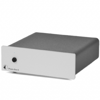 Pro-Ject Phono Box S Turntable PreAmp in Silver