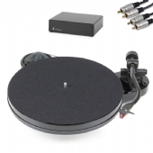 Pro-Ject RPM 1 Carbon Turntable inc. Ortofon 2M Red, Phono PreAmp & Cables