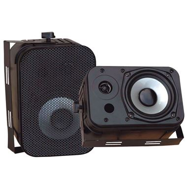 Pyle PDWR40 Pair of Waterproof Outdoor Speakers.