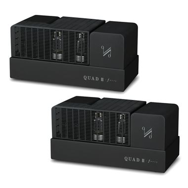 Quad QII-Forty ( 2-40 pair ) Mono Valve Power Amplifiers
