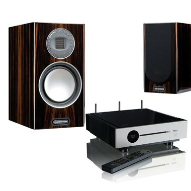 Quad Artera Solus Play Streaming WiFi System with Monitor Audio Gold 100 Speakers