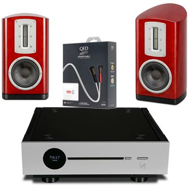 Quad Artera Solus HiFi System with Z1 Speakers and Free cables